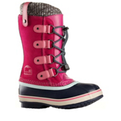 Sorel Joan Of Arctic Knit Girls Boots, Haute Pink, medium