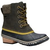 Sorel Slimpack II Lace Womens Boots, Peatmoss-Bog, medium