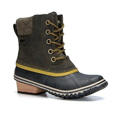 Sorel Slimpack II Lace Womens Boots, Peatmoss-Bog, viewer