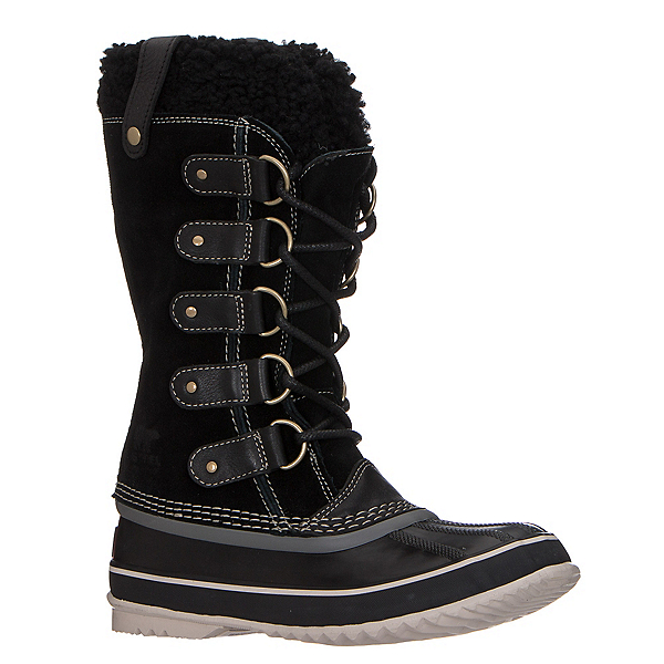 Sorel Joan of Artic Shearling Womens Boots, Black-Stone, 600