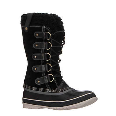 Sorel Joan of Artic Shearling Womens Boots, Black-Stone, viewer