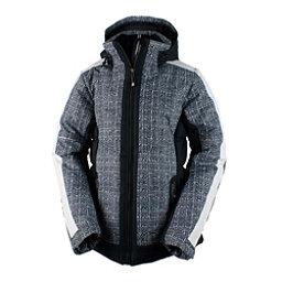 Obermeyer Valerie Womens Insulated Ski Jacket, Black, 256
