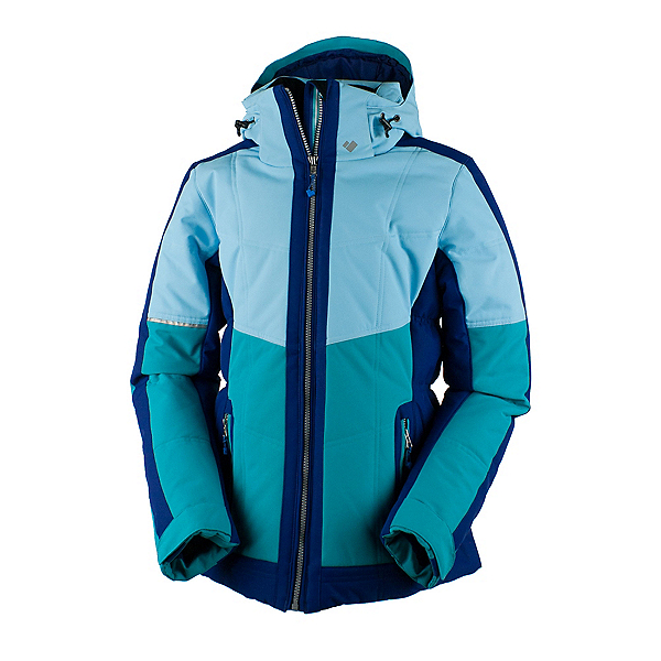 Obermeyer Valerie Womens Insulated Ski Jacket, Mermaid, 600