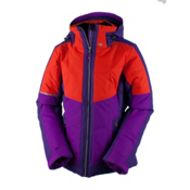 Obermeyer Valerie Womens Insulated Ski Jacket, Azalea Purple, medium