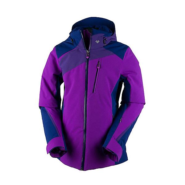 Obermeyer Kitzbuhel Womens Insulated Ski Jacket, Violet Vibe, 600