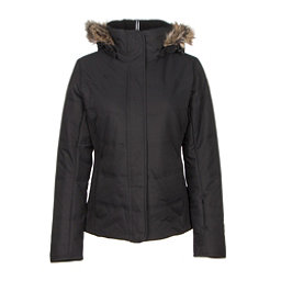 Obermeyer Tuscany w/ Faux Fur Womens Insulated Ski Jacket, Black, 256