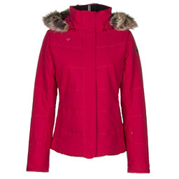 Obermeyer Tuscany w/ Faux Fur Womens Insulated Ski Jacket, Cerise, 256