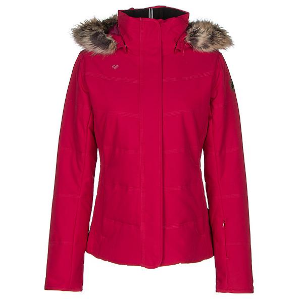 Obermeyer Tuscany w/ Faux Fur Womens Insulated Ski Jacket, Cerise, 600