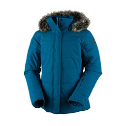 Obermeyer Tuscany w/ Faux Fur Womens Insulated Ski Jacket, High Seas, 256