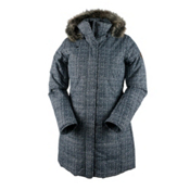 Obermeyer Tuscany Parka with Faux Fur Womens Insulated Ski Jacket, Boucla, medium