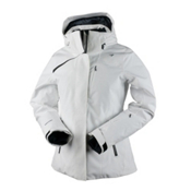 Obermeyer Zermatt Womens Insulated Ski Jacket, White, medium