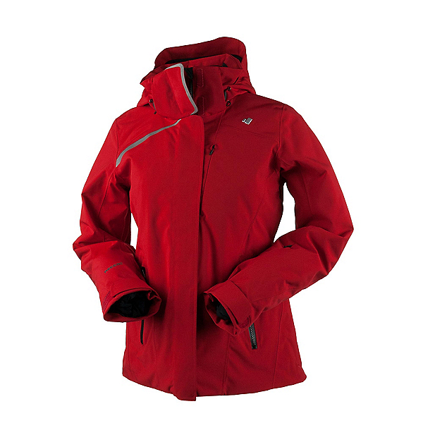 Obermeyer Zermatt Womens Insulated Ski Jacket, Crimson, 600