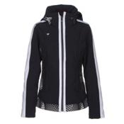 Obermeyer Chamonix Womens Insulated Ski Jacket, Black, medium