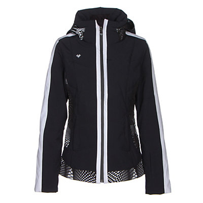 Obermeyer Chamonix Womens Insulated Ski Jacket, Black, viewer