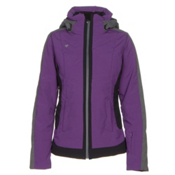 Obermeyer Chamonix Womens Insulated Ski Jacket, Azalea Purple, medium