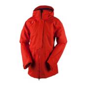 Obermeyer Aura Womens Insulated Ski Jacket, Tiger's Eye, medium