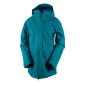 Obermeyer Aura Womens Insulated Ski Jacket, Mermaid, medium