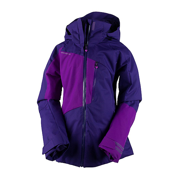 Obermeyer Sidley Womens Insulated Ski Jacket, Azalea Purple, 600