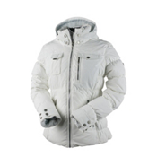 Obermeyer Leighton Petite Womens Insulated Ski Jacket, White, medium