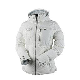 Obermeyer Leighton Petite Womens Insulated Ski Jacket, White, 256