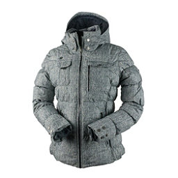 Obermeyer Leighton Petite Womens Insulated Ski Jacket, Mini Tweed, 256