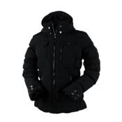 Obermeyer Leighton Womens Insulated Ski Jacket, Black, medium