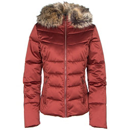 Obermeyer Bombshell with Faux Fur Womens Insulated Ski Jacket, Copper Beach, 256