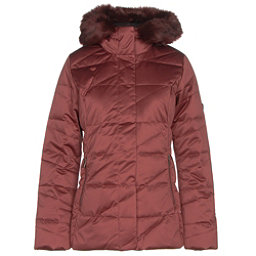Obermeyer Bombshell Parka w/ Faux Fur Womens Insulated Ski Jacket, Copper Beach, 256