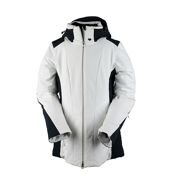 Obermeyer Siren Petite Womens Insulated Ski Jacket, White, 600