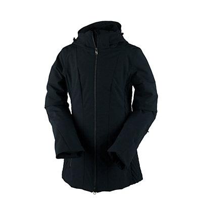 Obermeyer Siren Womens Insulated Ski Jacket, Black, viewer