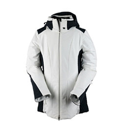 Obermeyer Siren Womens Insulated Ski Jacket, White, 256