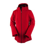 Obermeyer Siren Womens Insulated Ski Jacket, Crimson, medium