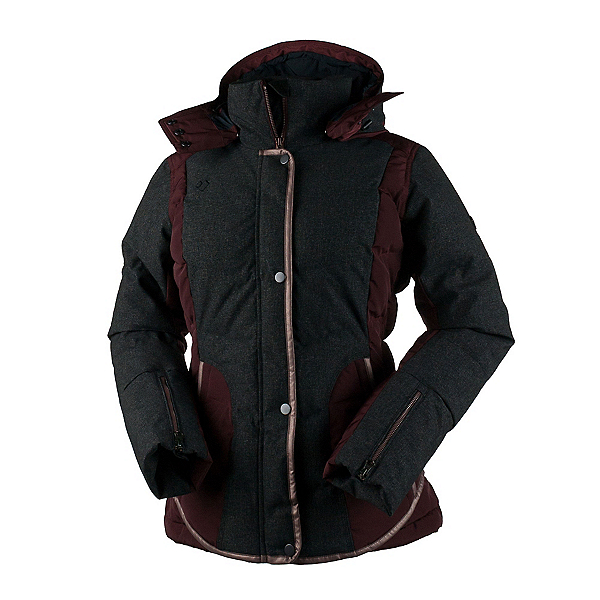 Obermeyer Payton Down Womens Insulated Ski Jacket, , 600