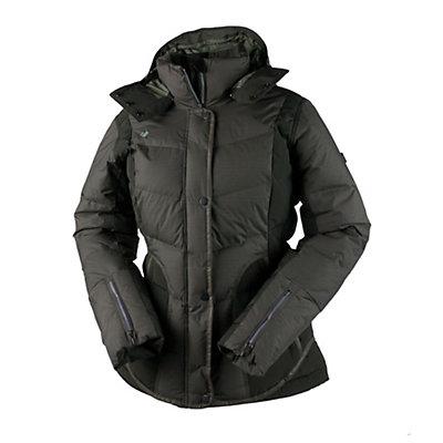 Obermeyer Payton Down Womens Insulated Ski Jacket, Clove, viewer