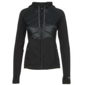 Obermeyer Kit Hybrid Insulator Womens Jacket, Black, medium