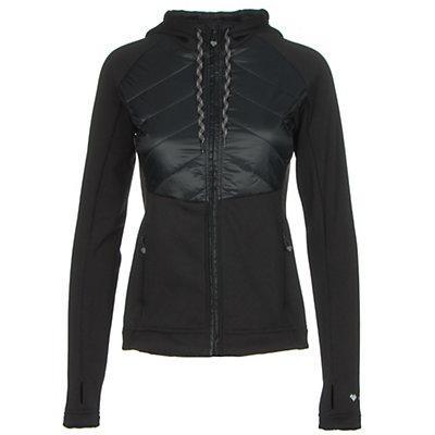 Obermeyer Kit Hybrid Insulator Womens Jacket, Black, viewer
