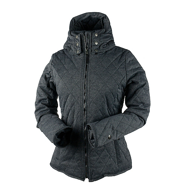 Obermeyer Desiree Insulator Womens Jacket, Dark Heather Grey, 600