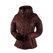 Obermeyer Desiree Insulator Womens Jacket, Clove, medium