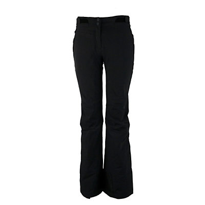 Obermeyer Warrior Short Womens Ski Pants, Black, viewer