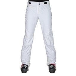 Obermeyer Warrior Short Womens Ski Pants, White, 256