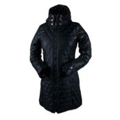 Obermeyer Desi Long Insulator Womens Jacket, Black, medium