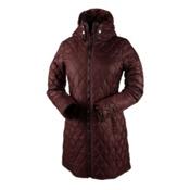 Obermeyer Desi Long Insulator Womens Jacket, Clove, medium