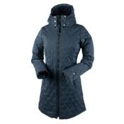 Obermeyer Desi Long Insulator Womens Jacket, Storm Cloud, medium