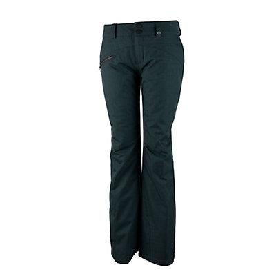 Obermeyer Malta Short Womens Ski Pants, Marble Grey, viewer