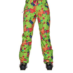 Obermeyer Malta Short Womens Ski Pants, Flower Burst, 256
