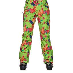 Obermeyer Malta Short Womens Ski Pants, Flower Burst, 256