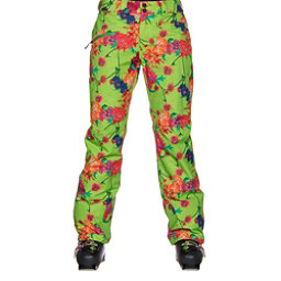 Obermeyer Malta Womens Ski Pants, Flower Burst, 256