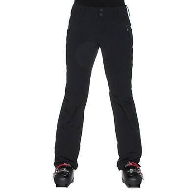 Obermeyer Monte Bianco Short Womens Ski Pants, Black, viewer