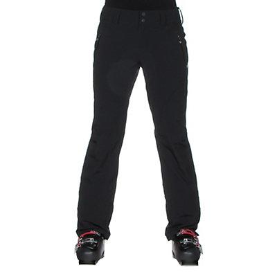 Obermeyer Monte Bianco Womens Ski Pants, Black, viewer