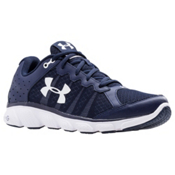 Under Armour Micro G Assert 6 Mens Athletic Shoes, Midnight Navy-White-White, medium